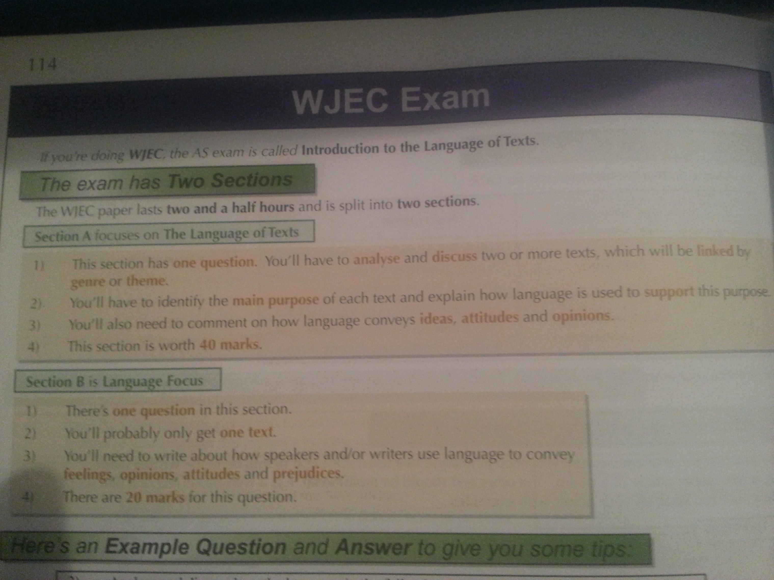 wjec english literature a level past papers Welsh joint education committee (wjec) a-level physics past papers and mark schemes.