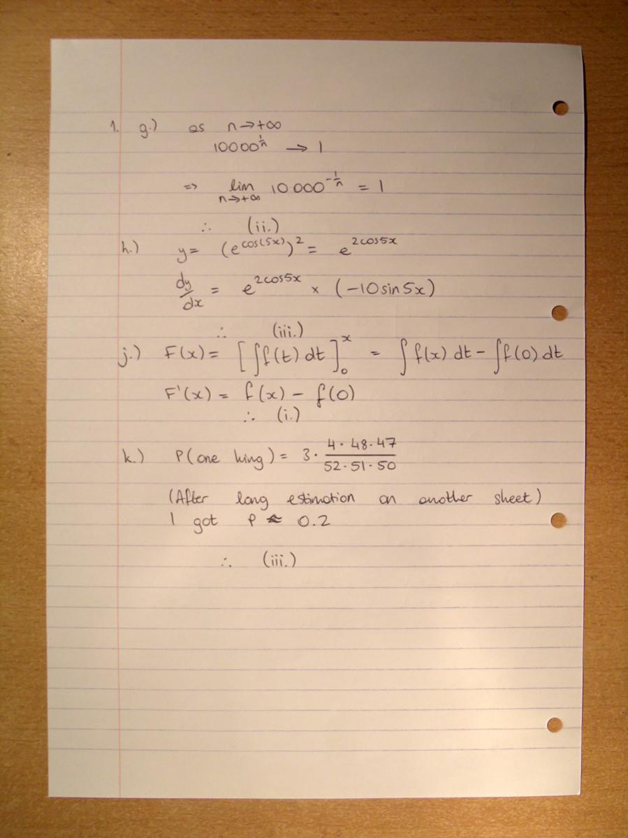 Oxford Maths Student Room