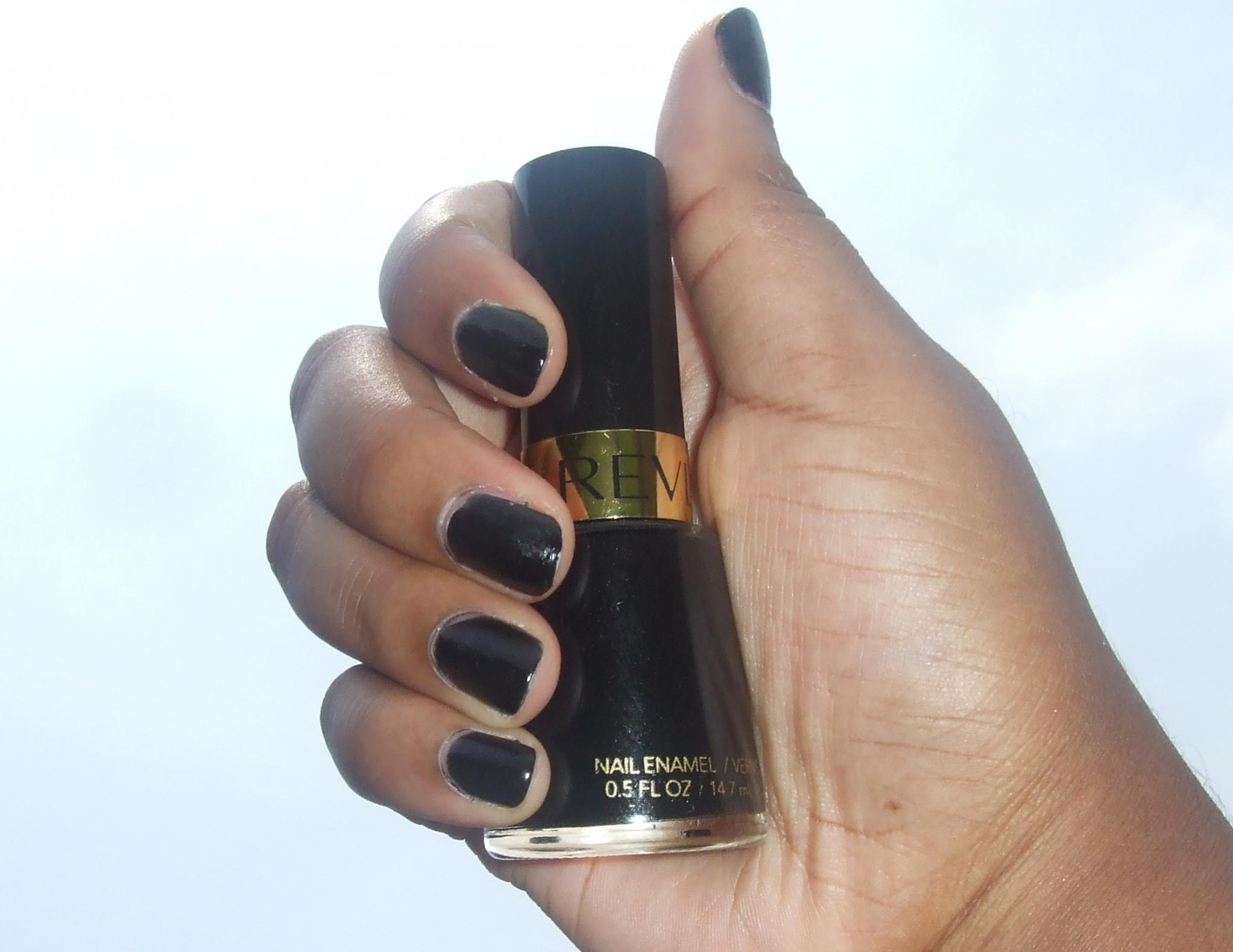 Black nail polish with dark skin? - The Student Room