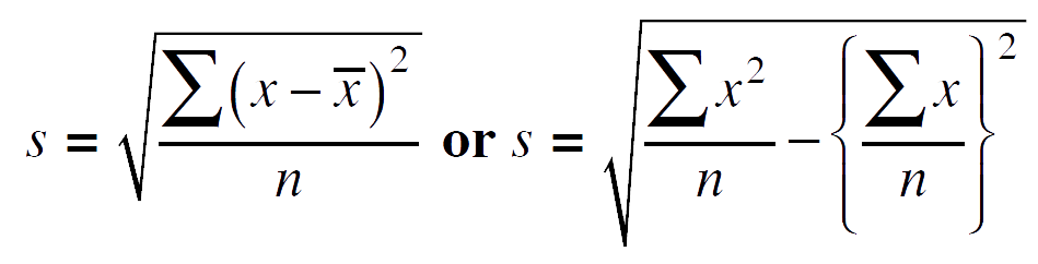 Name:  standard_deviation_formulae.png Views: 1328 Size:  11.9 KB