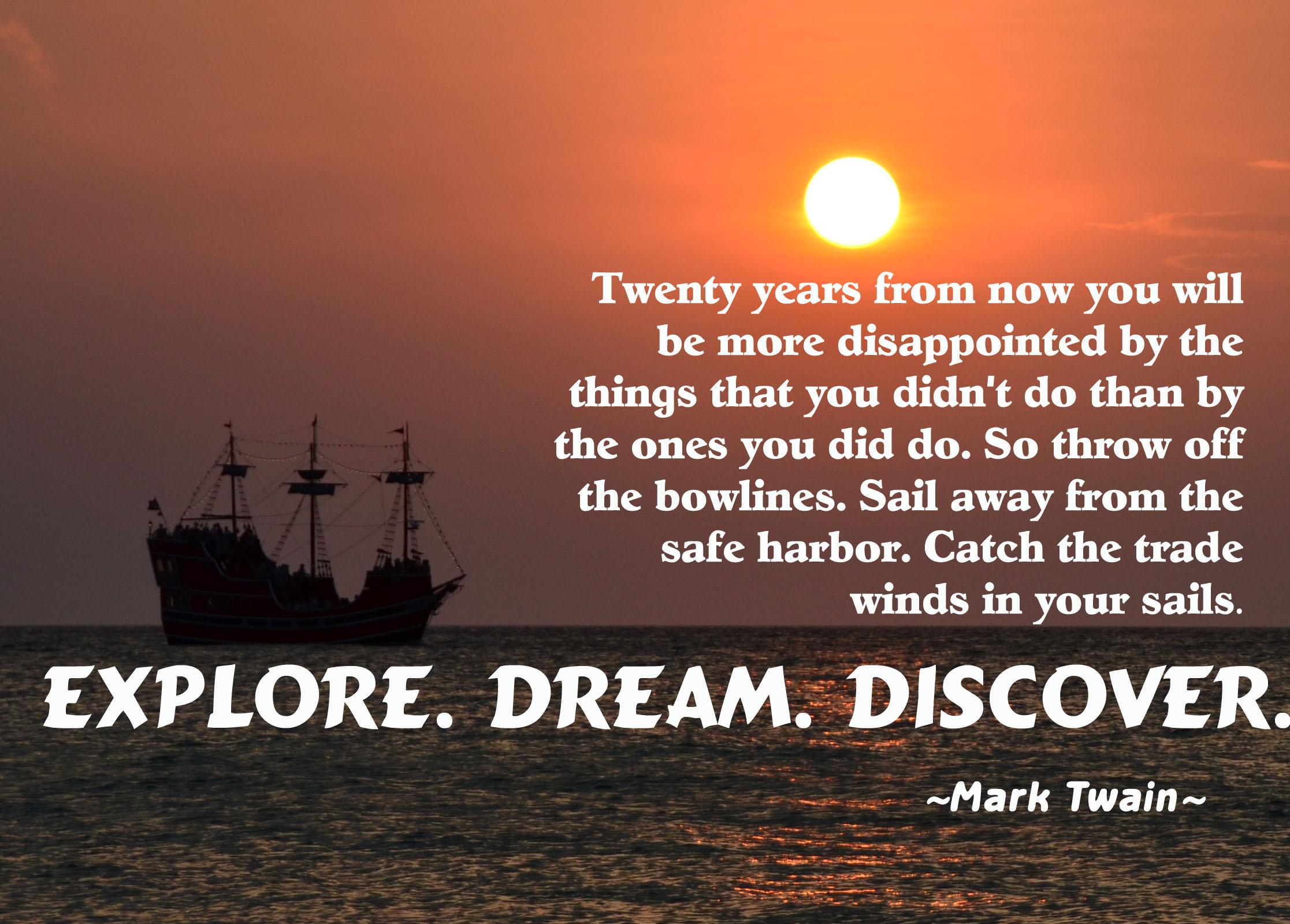 sail away essay