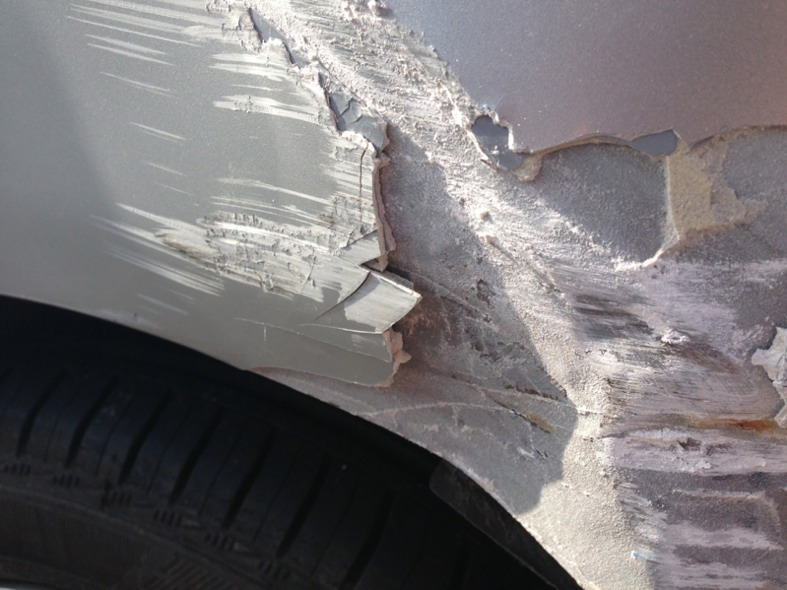 How Much Would A Dent Scratch Like This Cost To Repair The