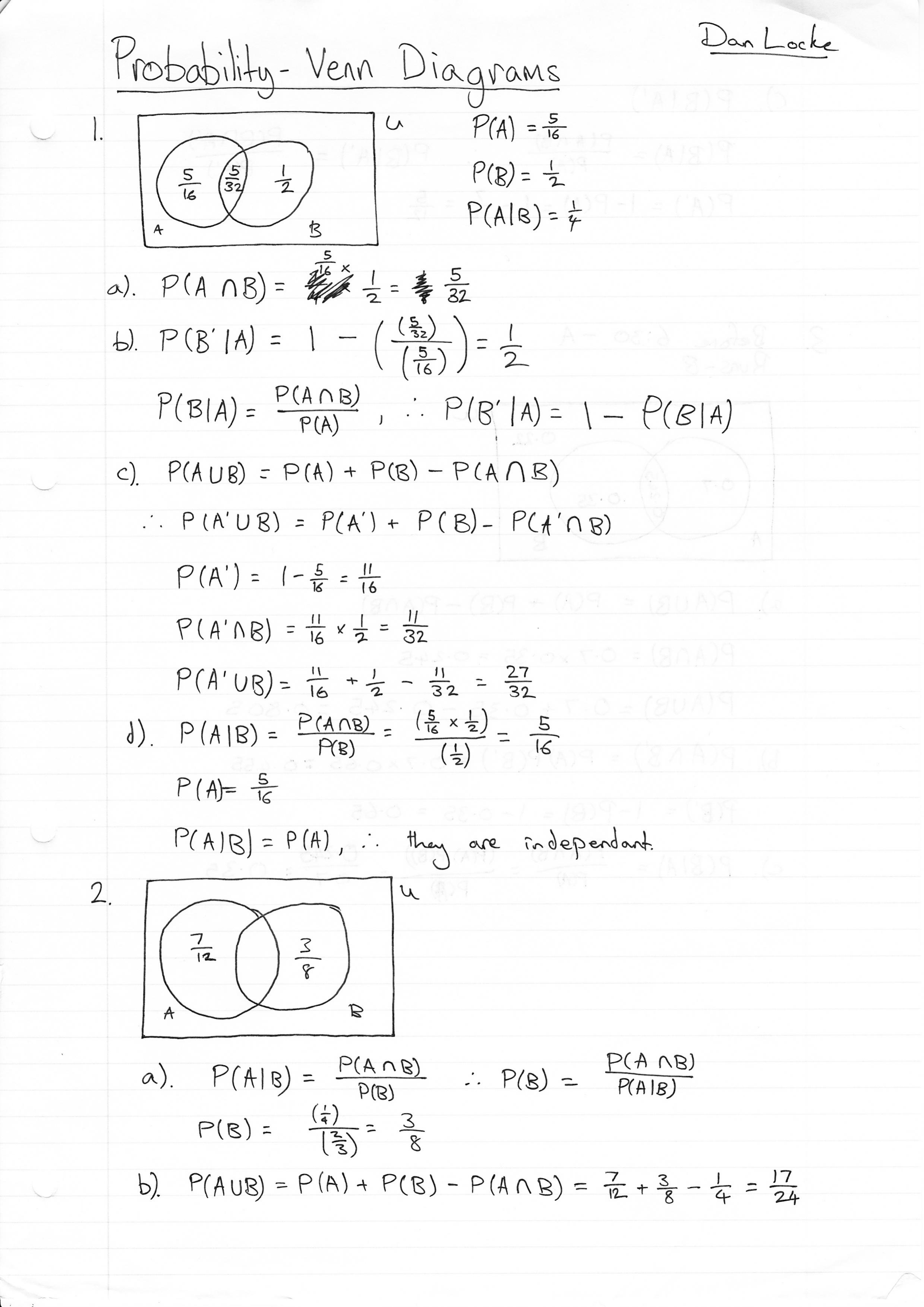 S1 Conditional Probability Questions The Student Room – Conditional Probability Worksheet