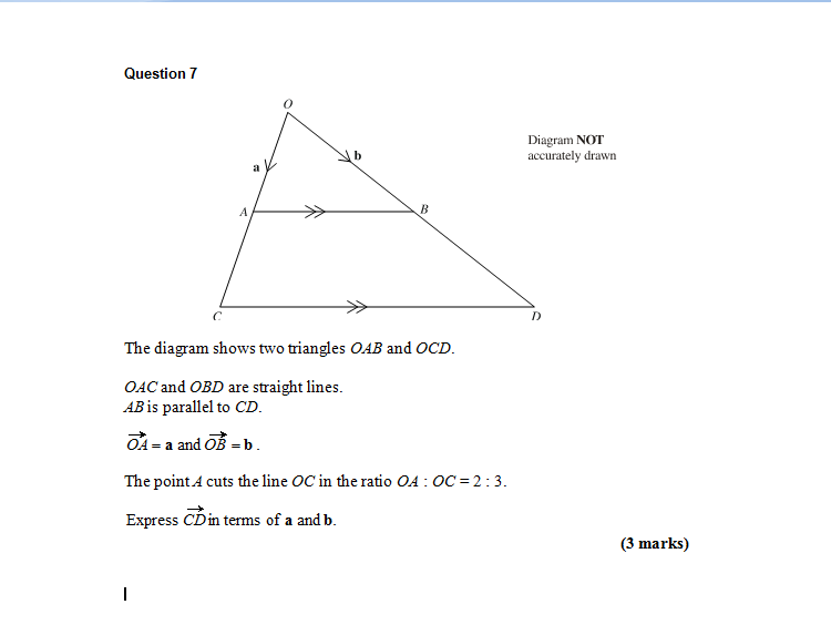 Gcse maths vectors urgent help the student room attached images ccuart Choice Image