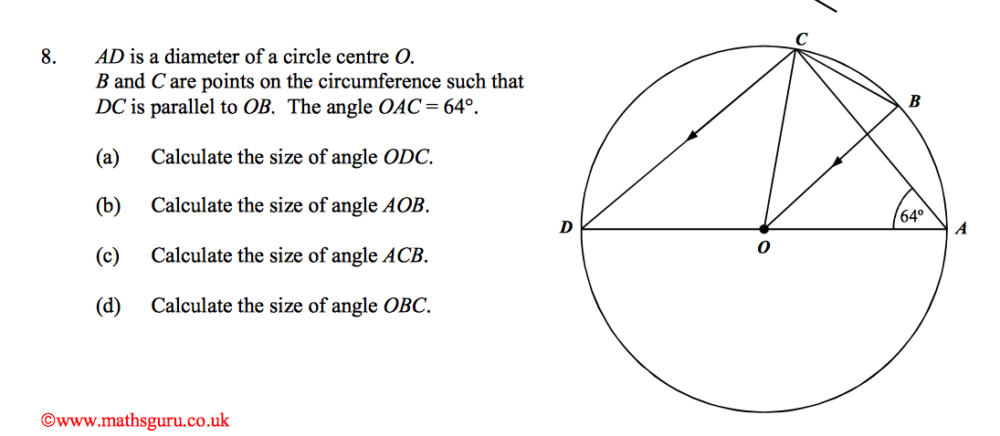 Maths Circle theorems HELP PLEASE - The Student Room