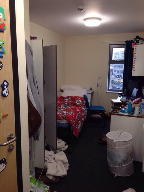 York St John Accommodation Student Room