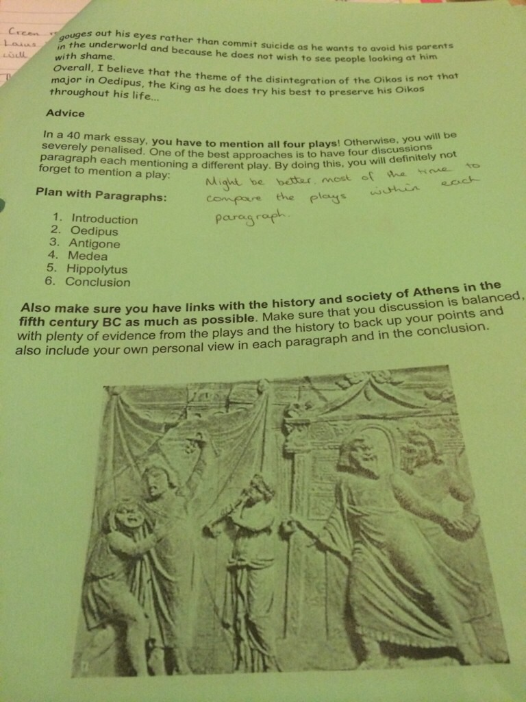 answering mark questions aqa greek tragedy civc the student room imageuploadedbystudent room1401660885 469492 jpg views 214 size 174 8 kb