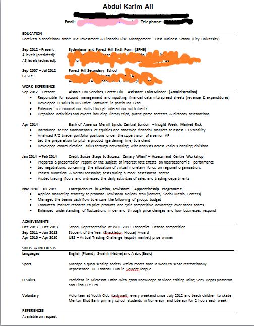 Home Design Ideas  erp project manager resume best resume sample      Hobbies Interests Resume   Hobbies Interests Formatting Letter