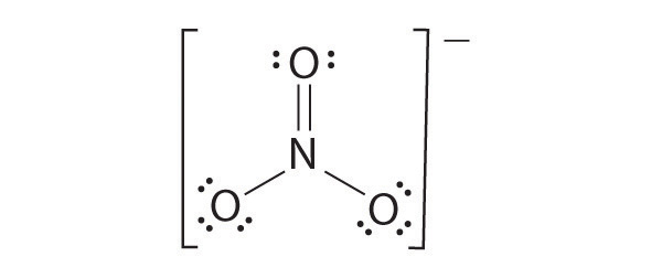 Confusion Over The Lewis Structure Of The Nitrate Ion No3