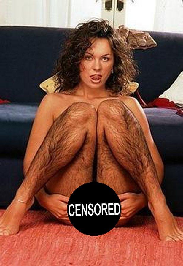 женщины с волосатыми небритыми ногами фото
