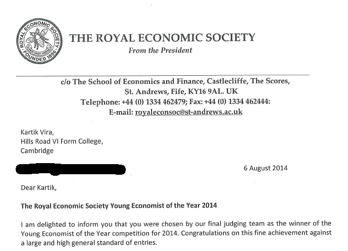 royal economics society essay competition