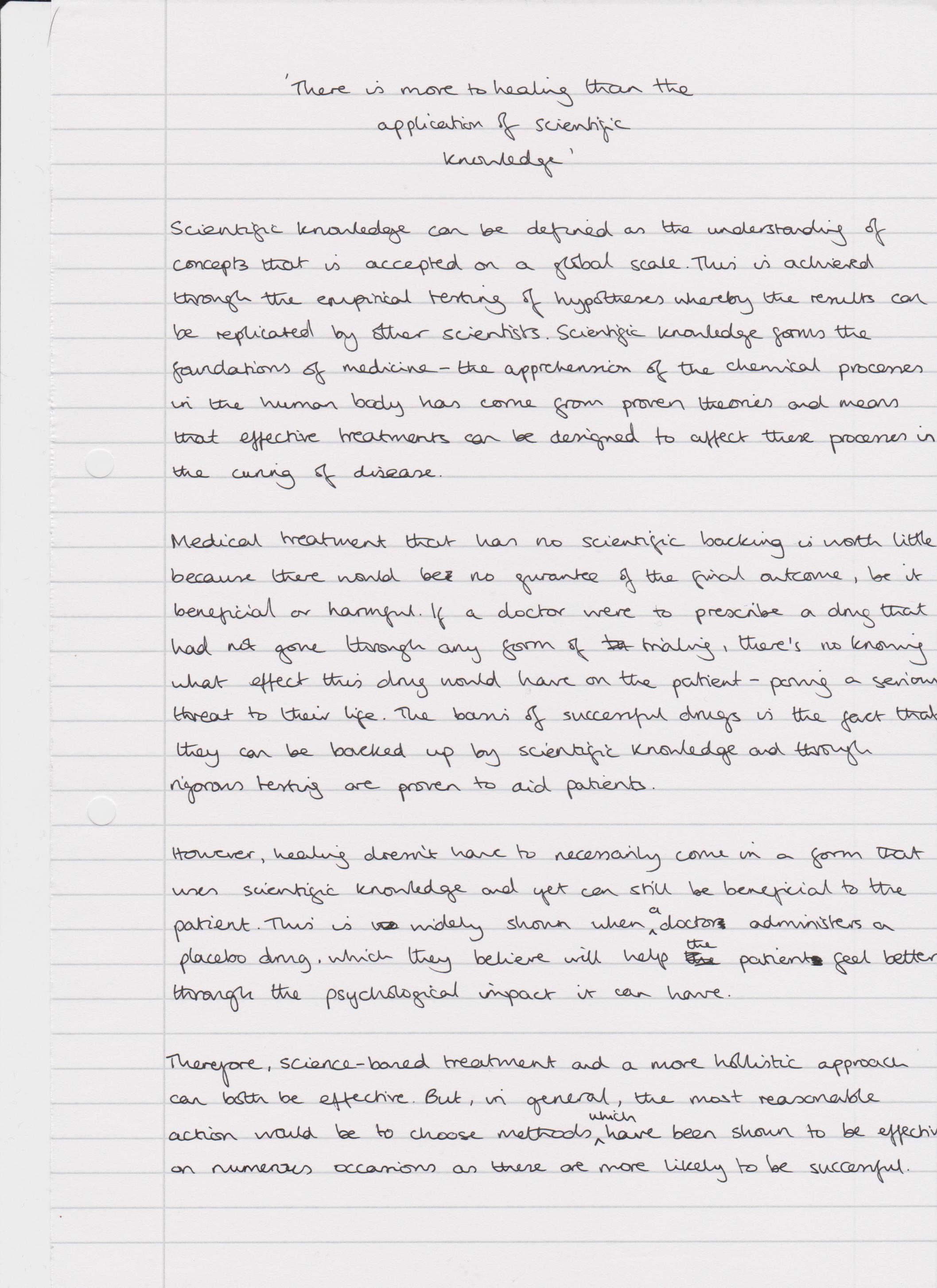 Please read essay