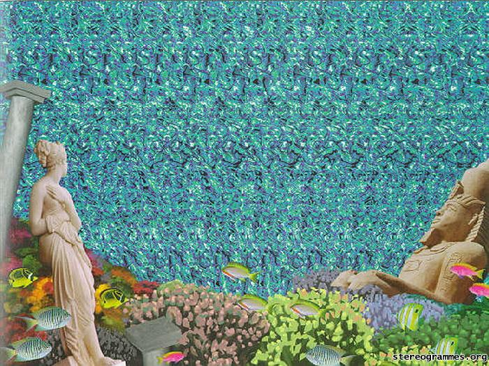 how to get magic eye working