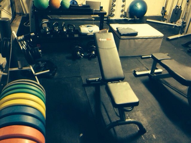 Rate my home garage gym the student room