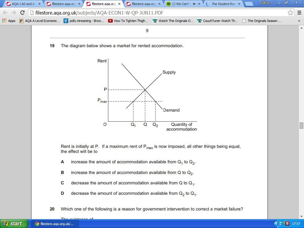 aqa economics essay questions