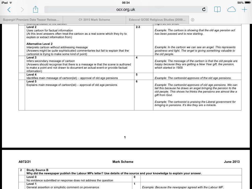 OCR History Paper 2 British Depth Study : GCSE - reddit.com