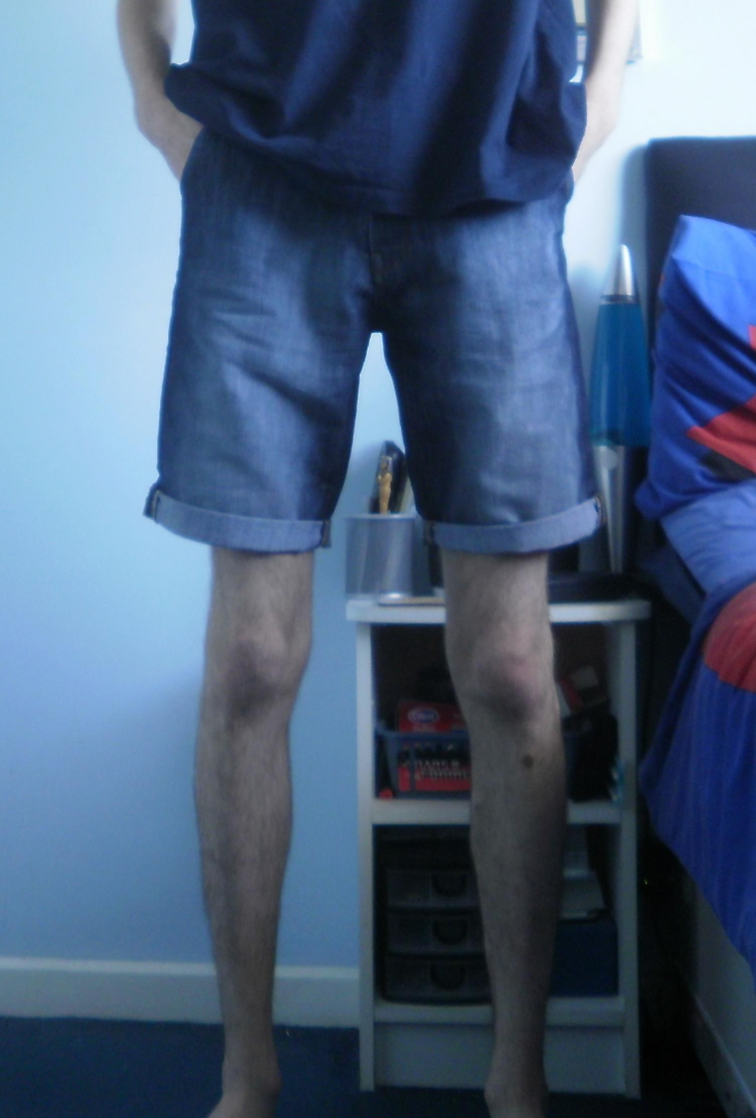 "Having the legs for shorter shorts, which I think is what you mean by being able to pull off the look, is one issue. Rudeness is another. (or I guess shorts). The whole skinny tight fitting men's clothes thing is a fad that will (hopefully) pass. ""David commented on How to Wear Shorts (and How Men's Shorts ."