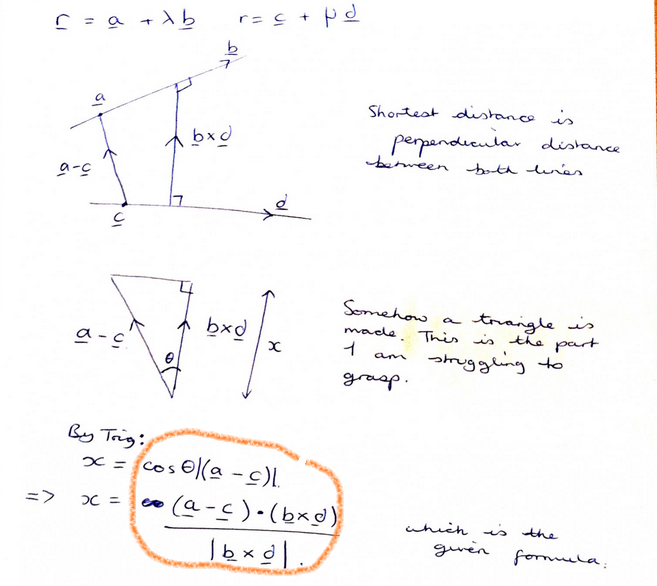 how to show two lines are parallel vectors