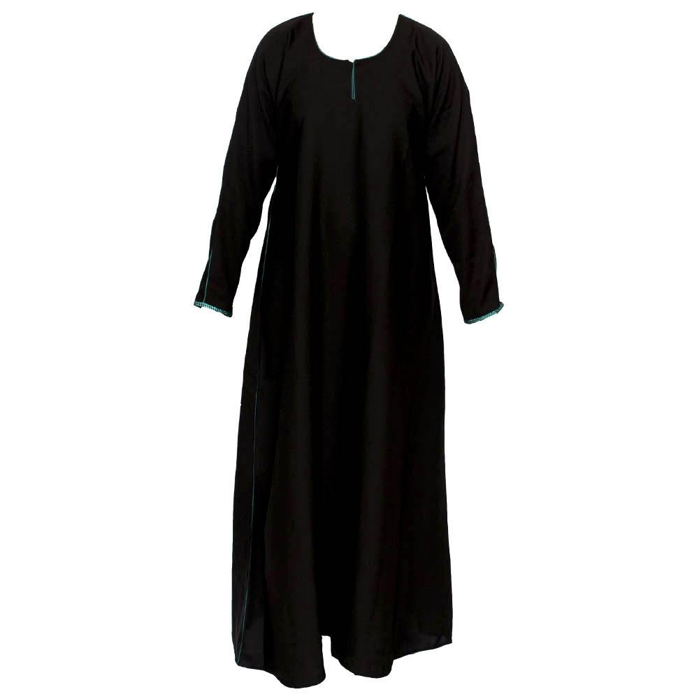 Name:  black-plain-green-diamente-sleeve-abaya-jilbab.jpg Views: 144 Size:  31.2 KB