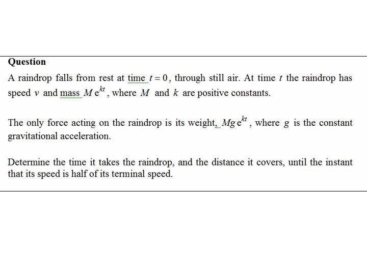 Name:  Mechanics Variable Mass.jpg Views: 29 Size:  32.4 KB