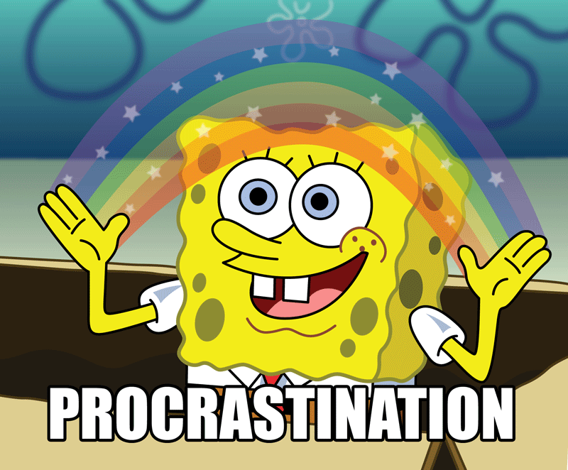Name:  Spongebob-Procrastination.png