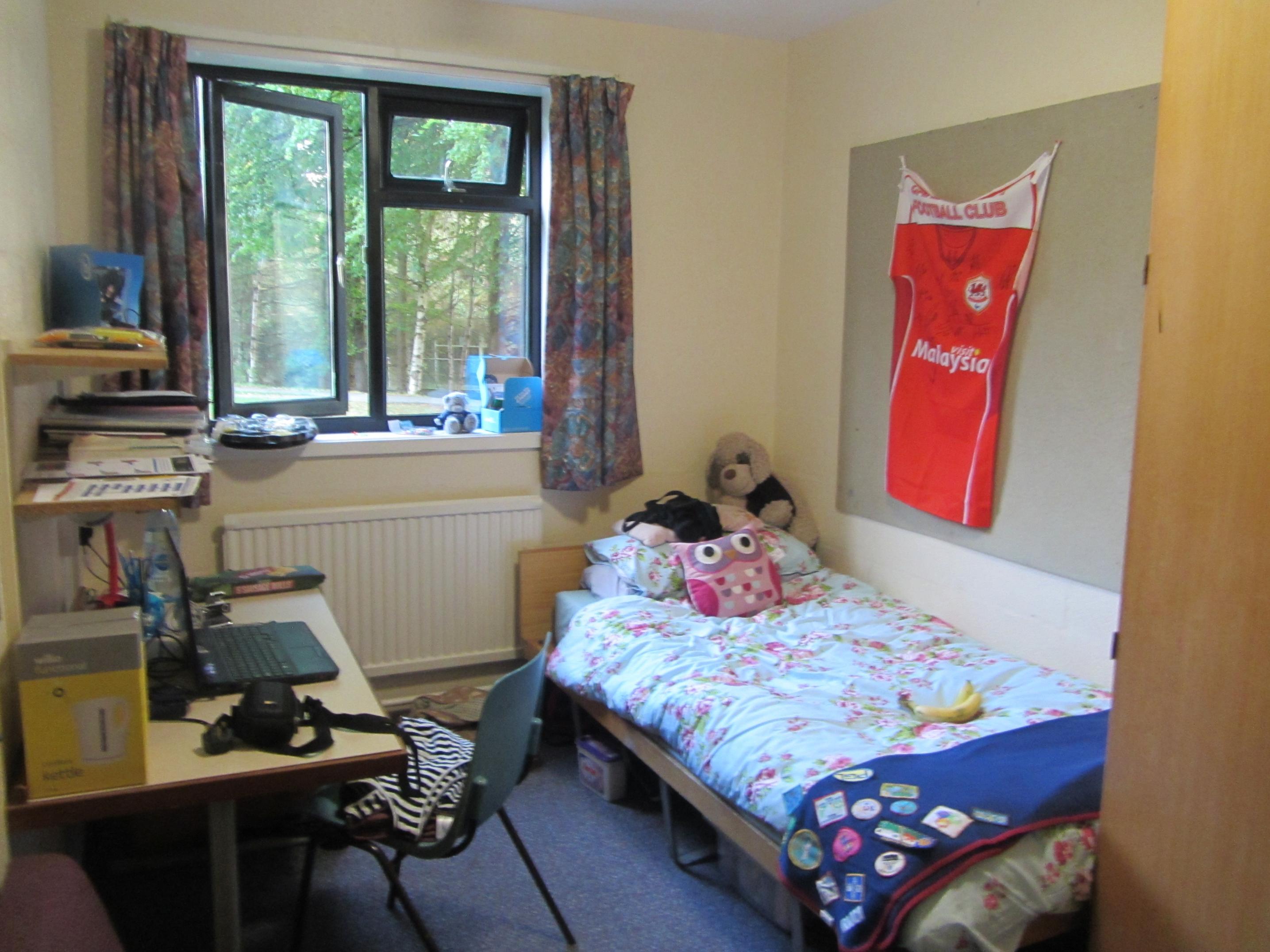 Lampeter University Ensuite Room
