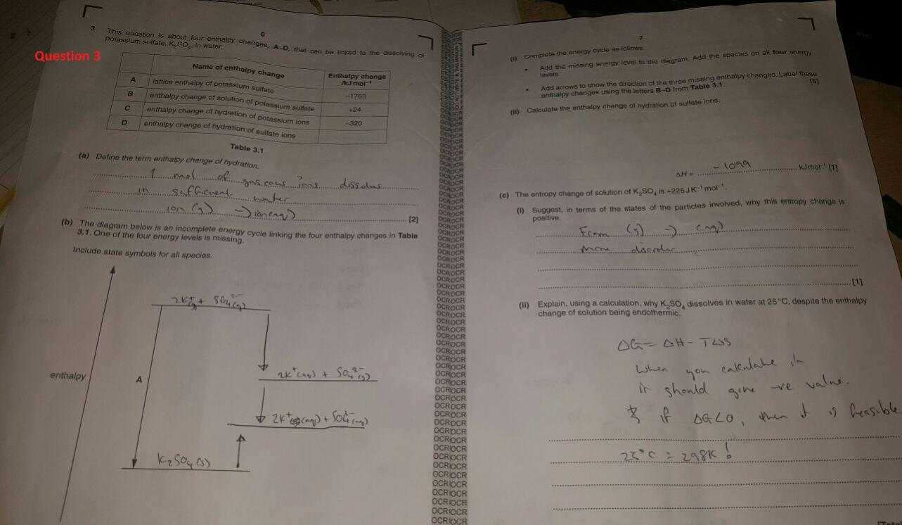 Ocr a2 chemistry f325 unofficial mark schemeanswers the attached images gamestrikefo Images