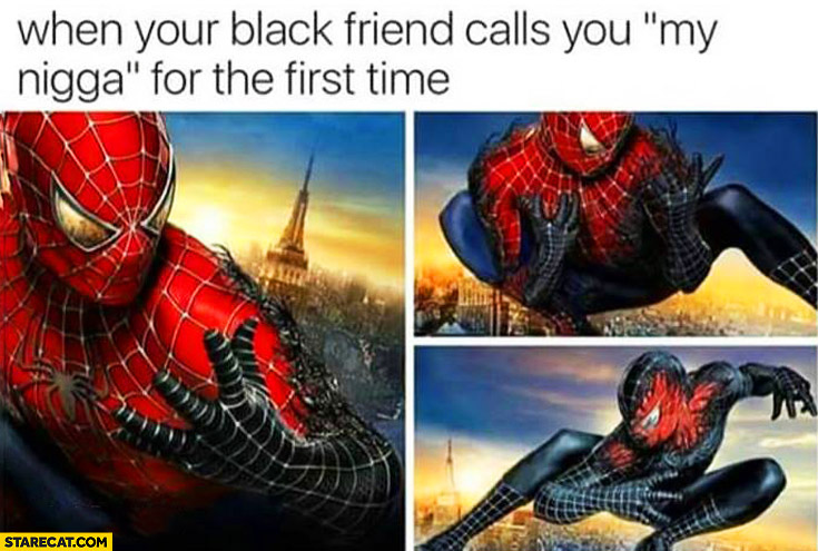 Name:  when-your-black-friend-calls-you-my-[s]innocent[/s][s]innocent[/s][s]innocent[/s][s]innocent[/s][s]innocent[/s]-for-the-first-time-spiderman.jpg Views: 6 Size:  109.0 KB