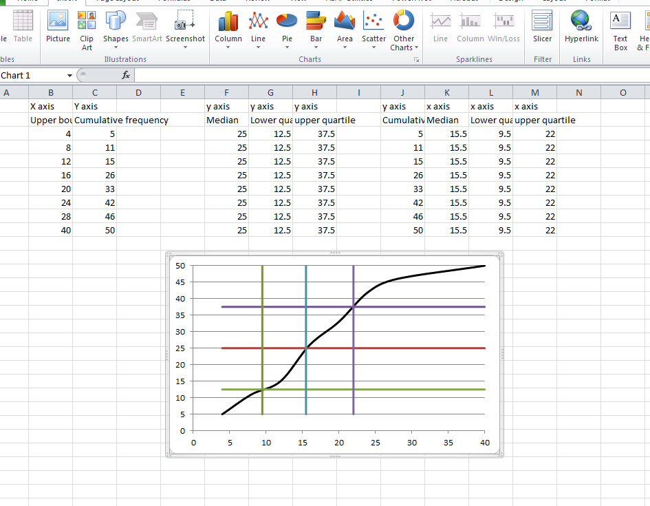 how to add line in excel graph