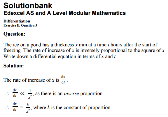 C4 Maths - Differentiation    Help??? - Page 3 - The Student