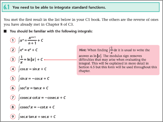 Maths C4 Integration Help The Student Room