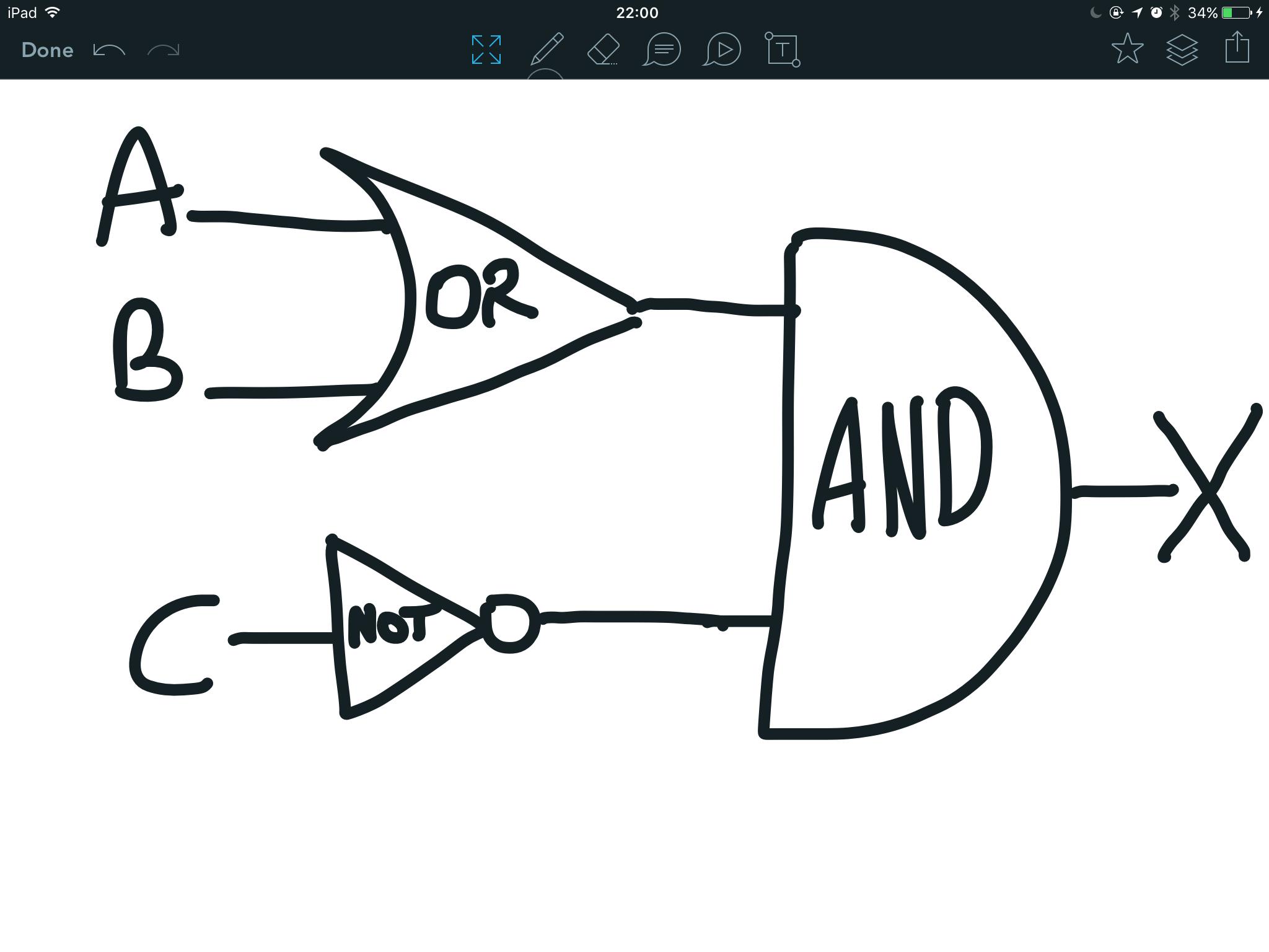 help with logic gates homework