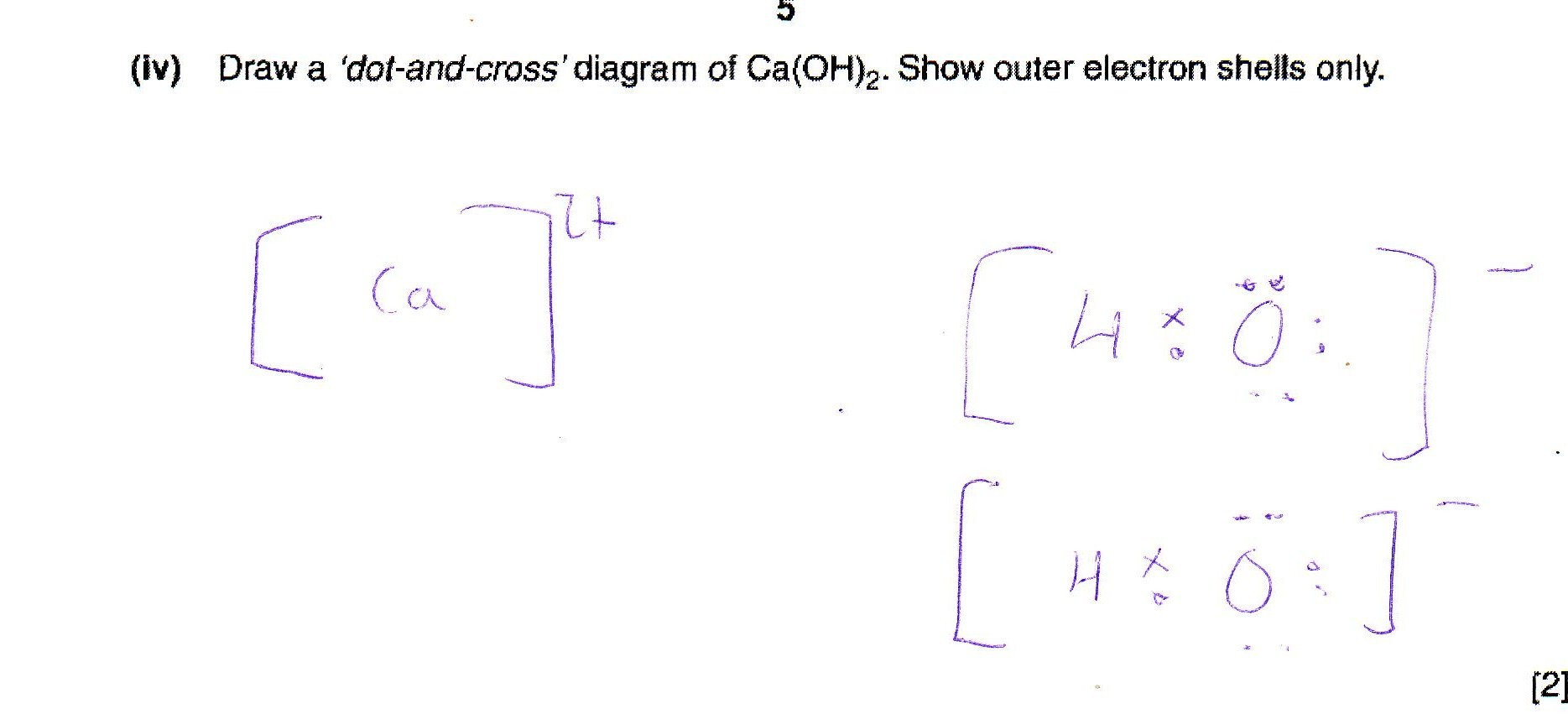 Dot and cross diagram of caoh2 the student room attached images pooptronica Choice Image