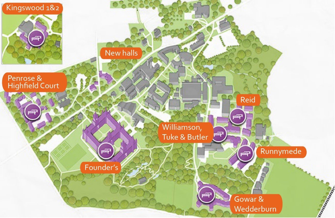 Royal Holloway Accommodation Guide 2017 - Q&A - The Student Room