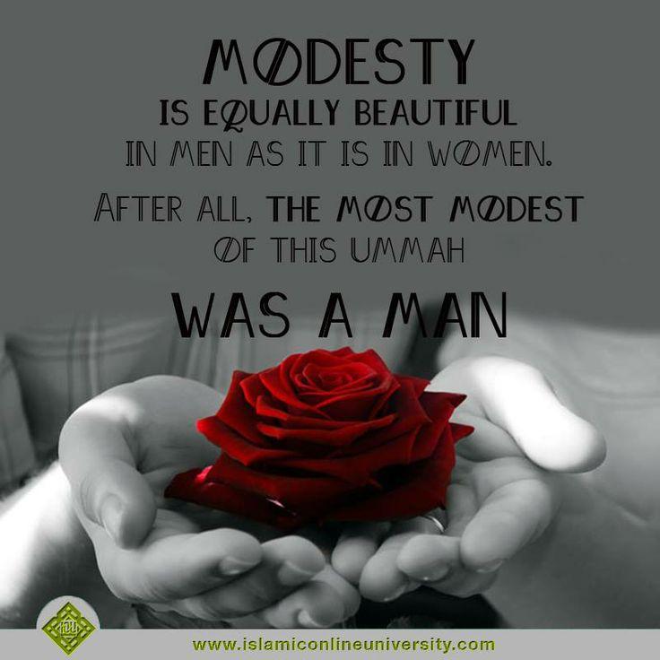 modesty in islam