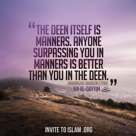 importance of good manners in islam 15 importance of good manners in islam is basic because allah loves those who take care of their tongue and manage their behavior for the sake of others.