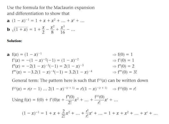 Fp2 Maclaurin Series Help The Student Room