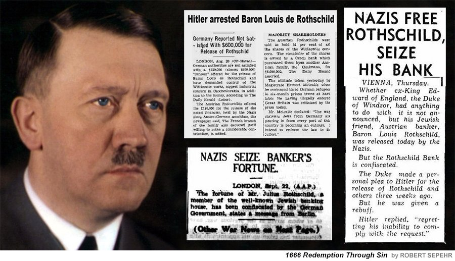 Image result for hitler rothschild