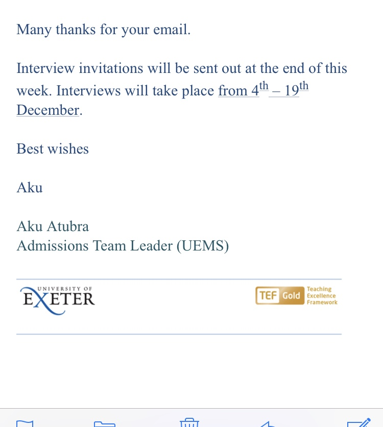 Exeter medicine (a100) applicants 2018 entry - Page 3 - The Student Room