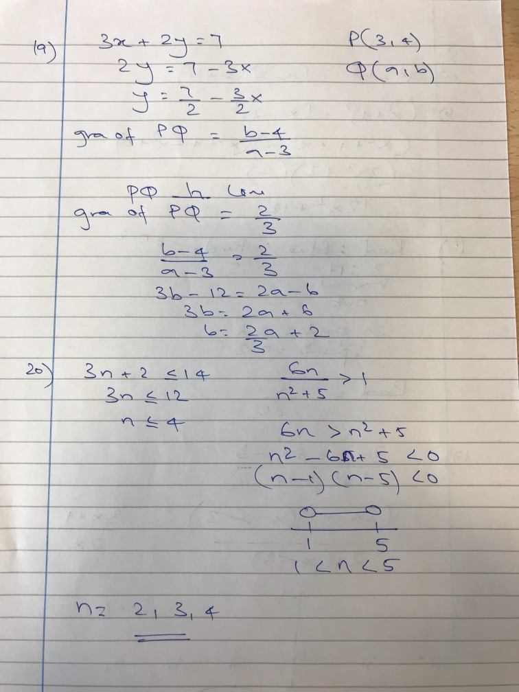 Gcse maths paper 1 , 24 May 2018 , (9-1)unofficial