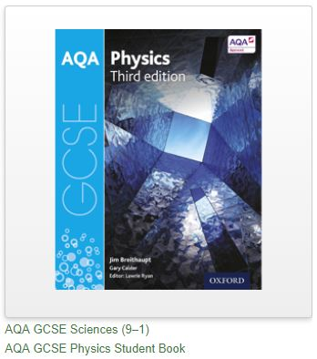 AQA GCSE Physics Third Edition book - where to get answers? - The