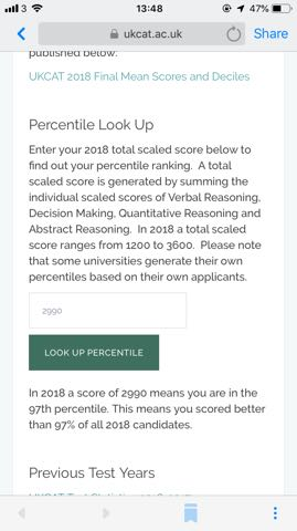 Results for UKCAT 2019 Entry - Page 52 - The Student Room