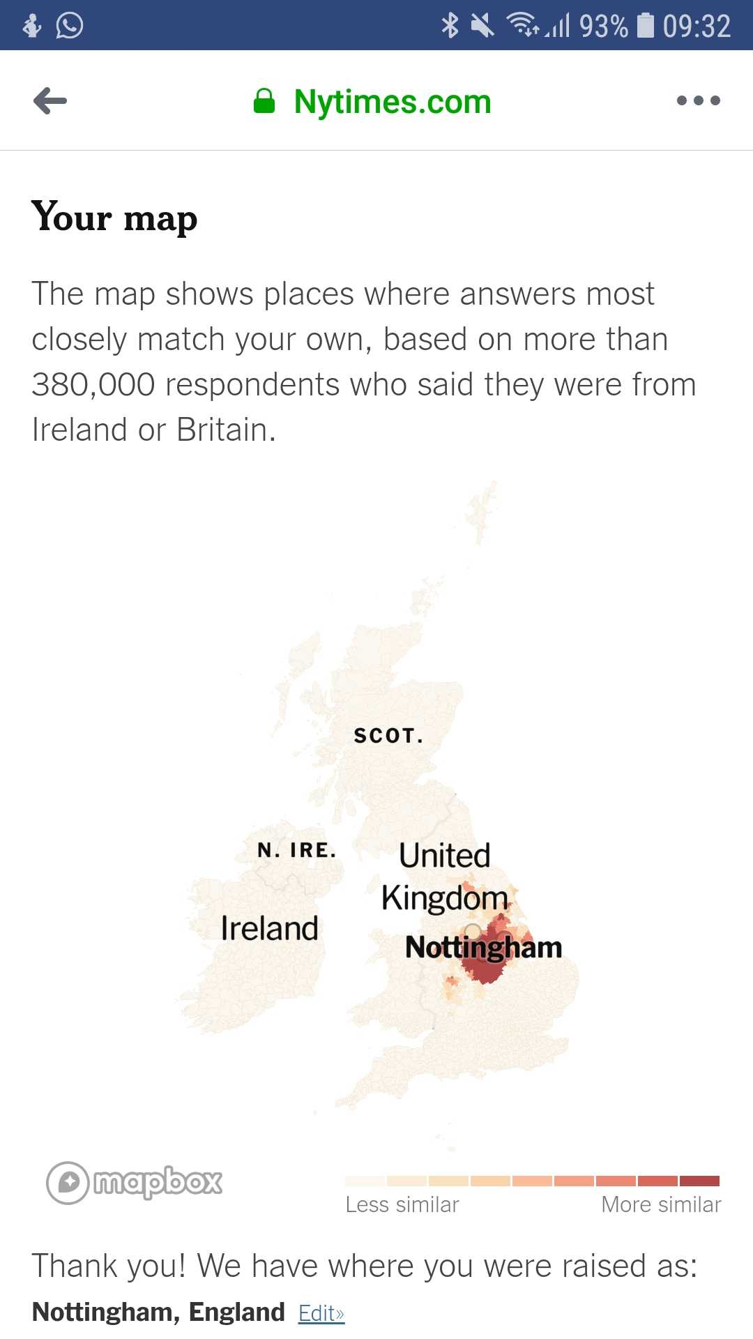 Take the accent/dialect Quiz! - The Student Room