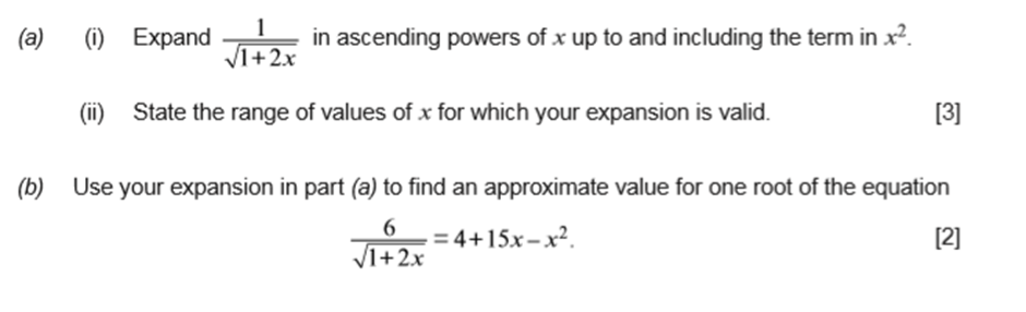 Name:  binomial expansion question.png Views: 6 Size:  59.2 KB