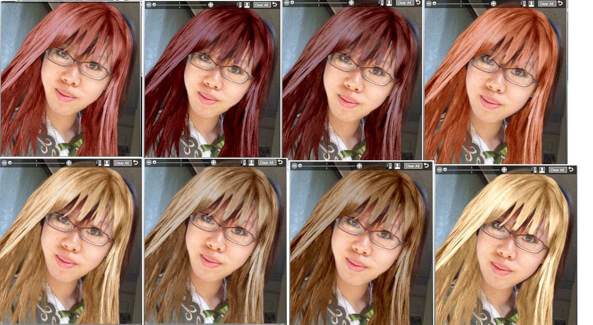 Virtual Makeover Could I Pull Off These Hair Colours The Student