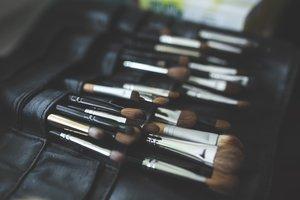 Box of makeup