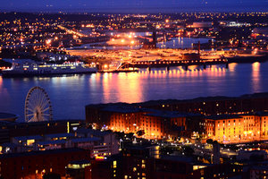 Liverpool comes alive at night