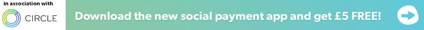 Download the new social payment app and get £5 free