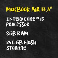 MacBook Air spec sheet