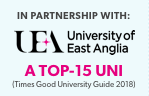 UEA is a top 15 university